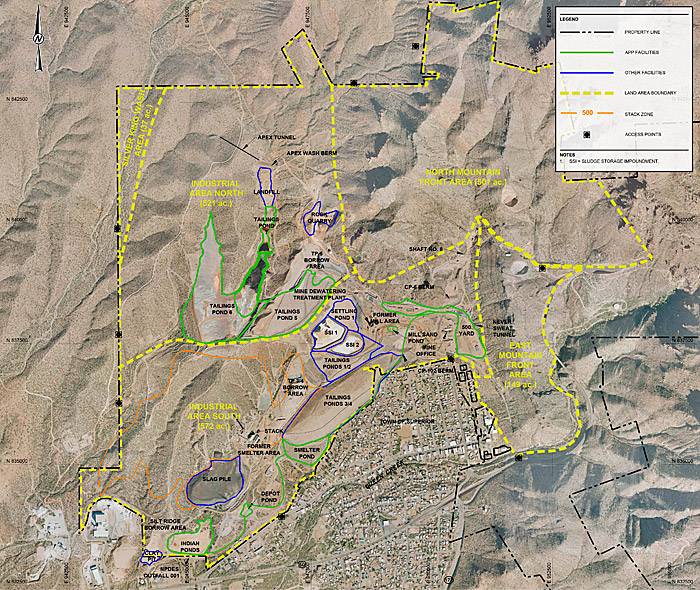 Plant Site Map Examples: 11.4 Resolution Copper Mining LLC (RCML) West Plant Site